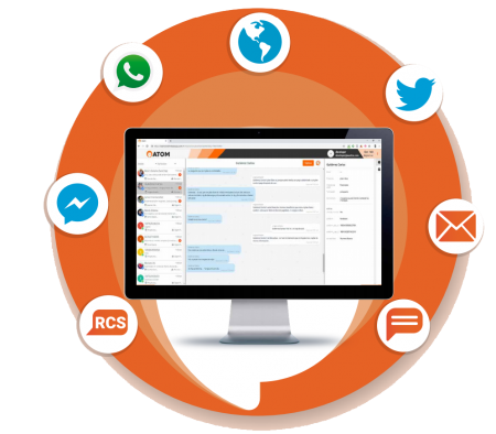 atom chat - plataforma conversacional