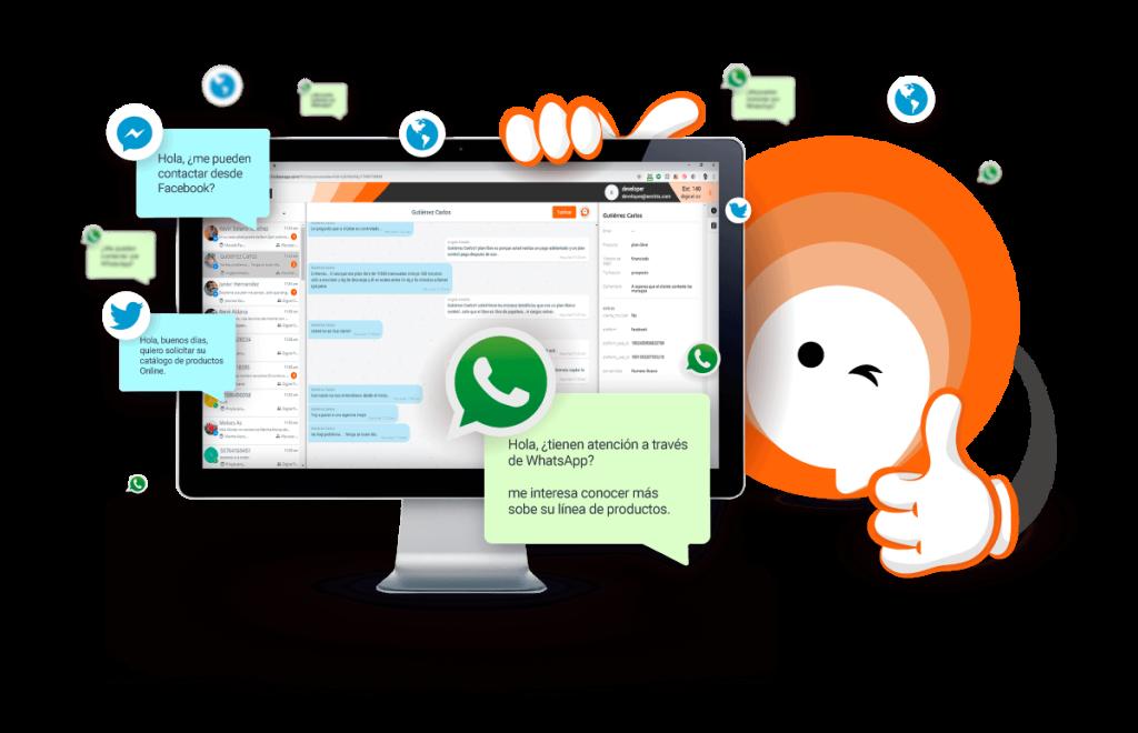 comercio conversacional - atom chat - whatsapp