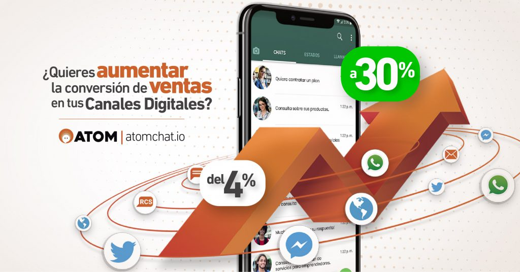 movistar costa rica - atom chat - whatsapp - plan postpago
